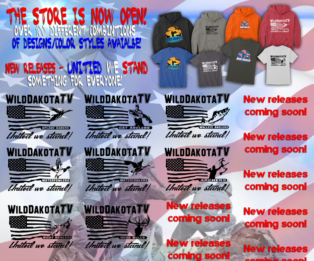8 NEW designs for WD UNITED WE STAND!